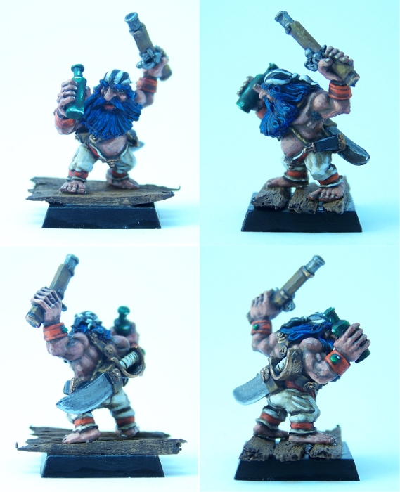 Crewman Skagi Bluebeard